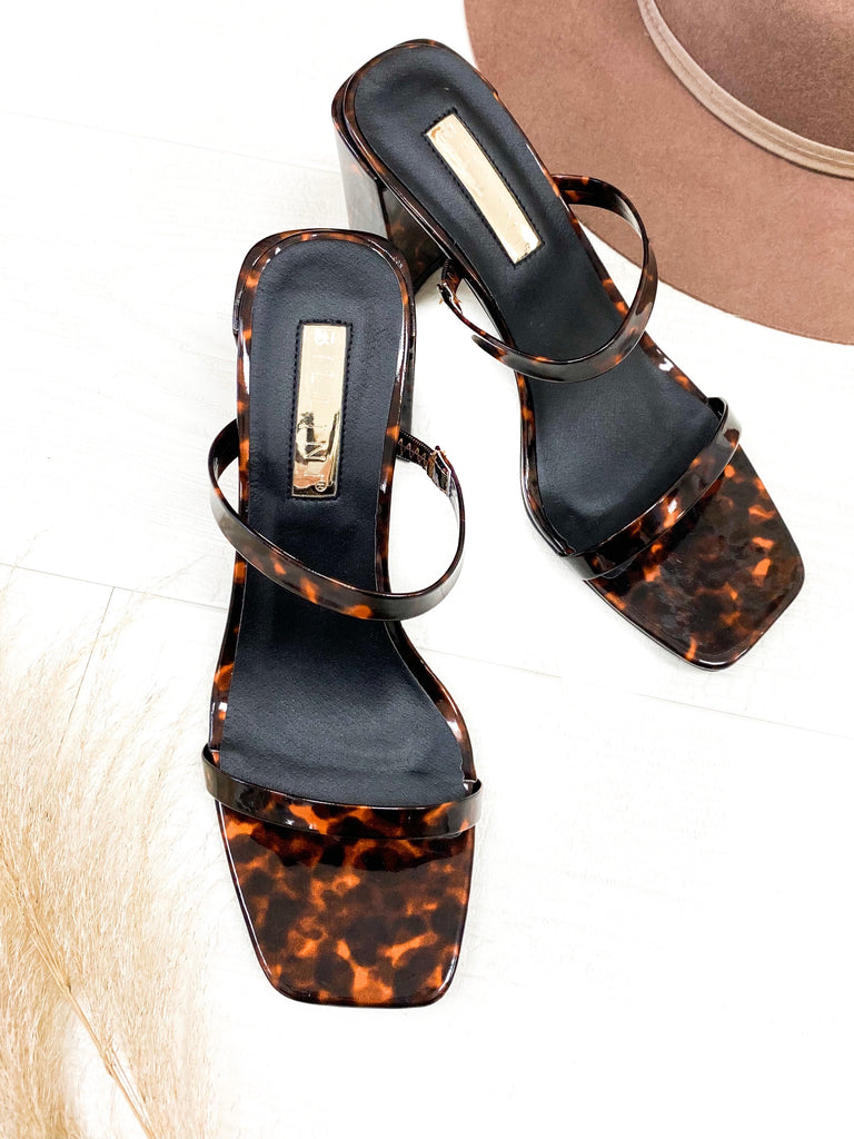 Banksia Heels in Tortoise by BILLINI (Excluded From Promo)