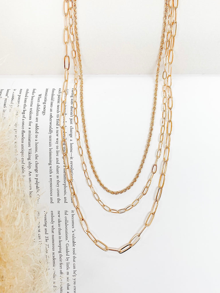 Ember Multi Chain Necklace