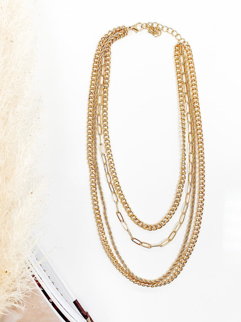 Dylan Multi Chain Necklace