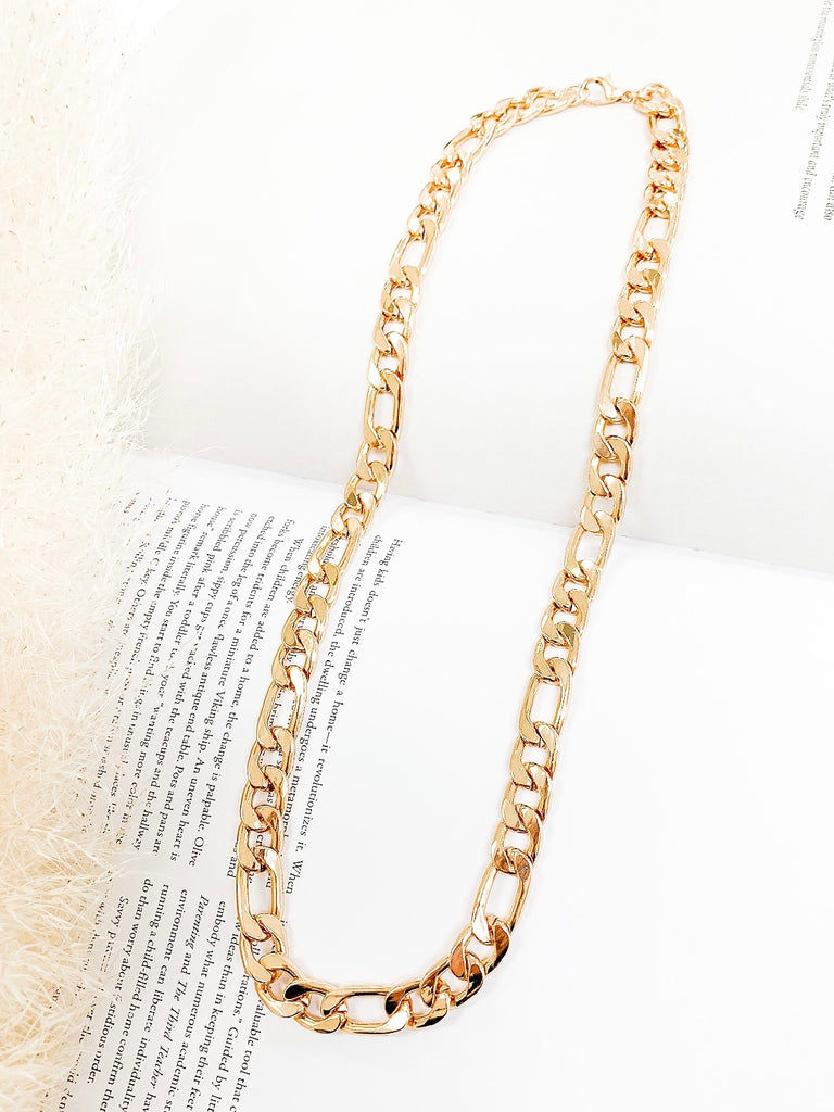 Gigi Curb Chain Necklace