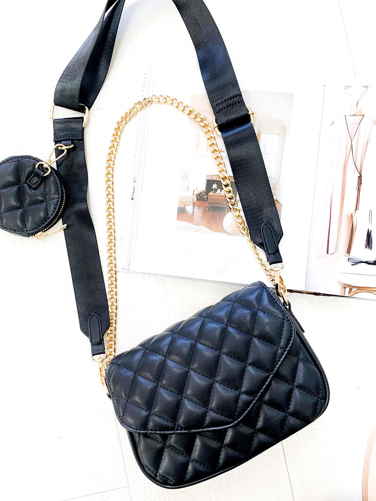 Marant Chain Bag in Black