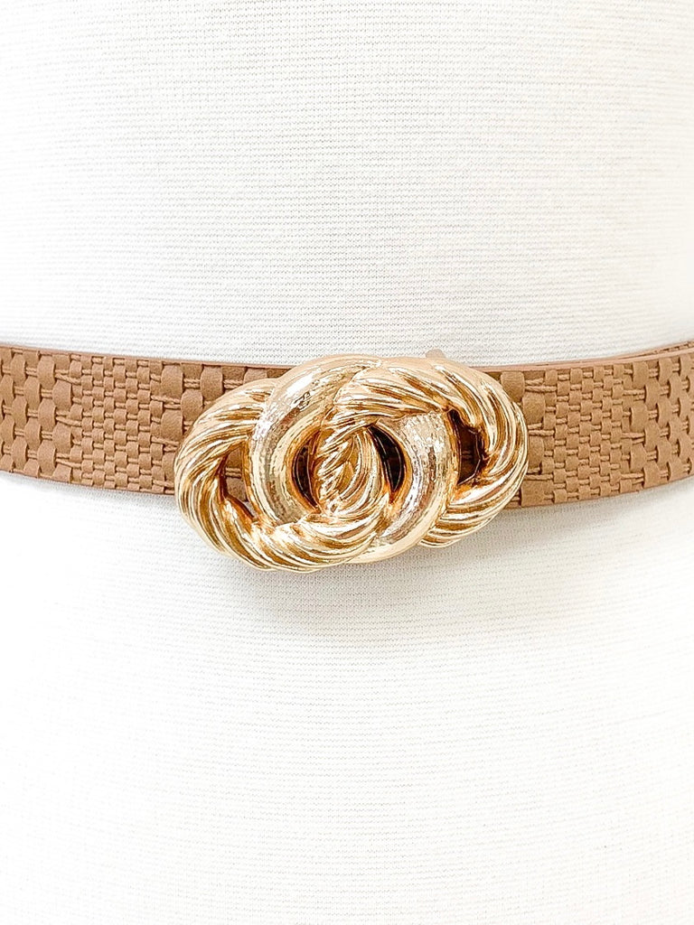 Danity Belt in Nude
