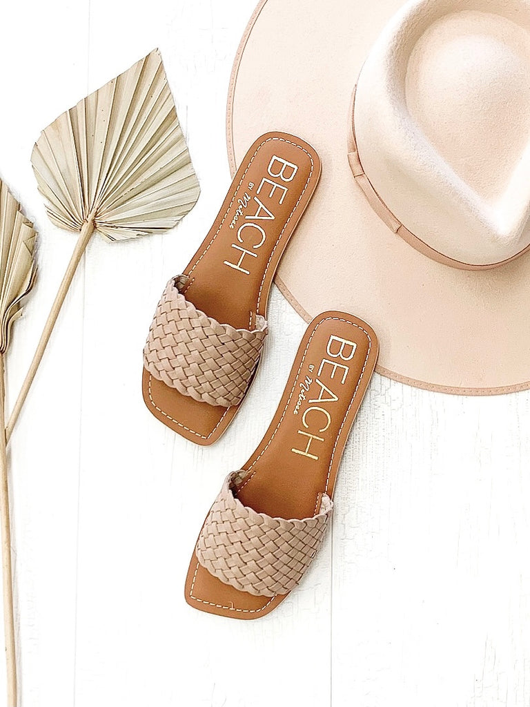 Valley Sandals in Nude by MATISSE