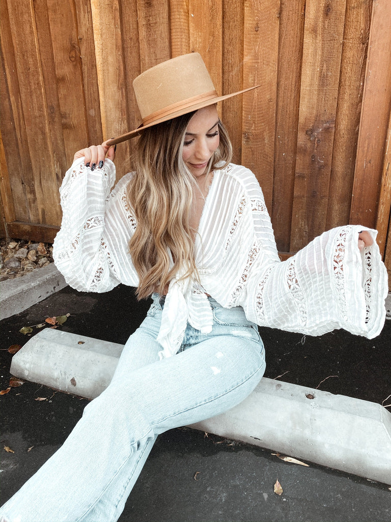 Willow Kimono in Ivory by FREE PEOPLE