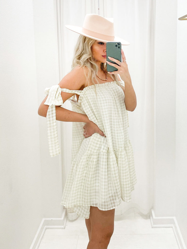 Freya Gingham Dress