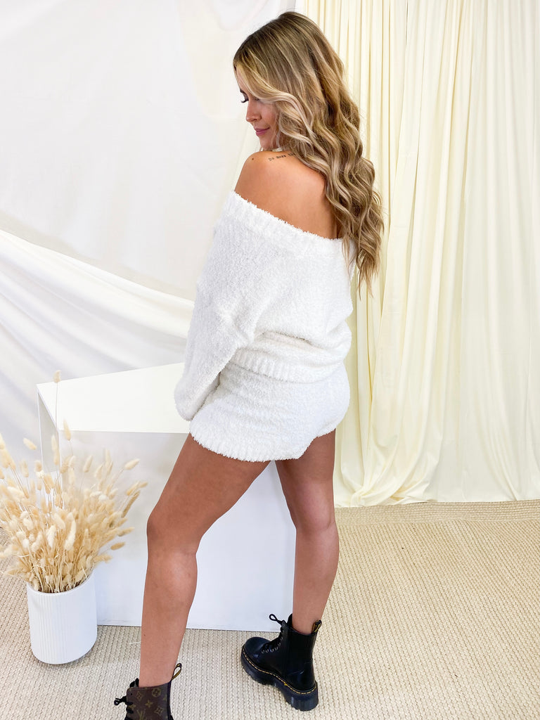 Cloud 9 Lounge Shorts in White