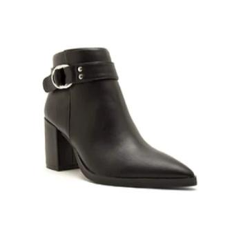 Midnight Strap Bootie