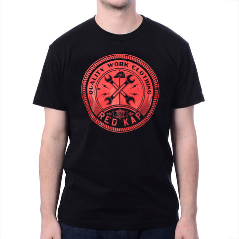 Men's Black Wired Wrench T-Shirt