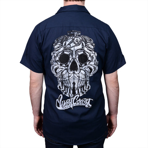 West Coast Customs Metal Head Work Shirt
