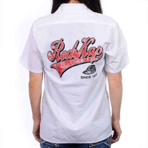 Women's White RK Retro Work Shirt
