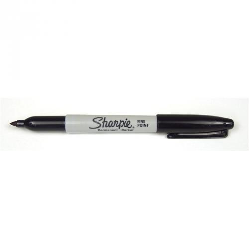 Sharpie Fine Point viltstift - zwart - RIJNSE