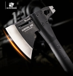 HX Outdoors' Multifunctional Fire Rescue Axe and Hammer