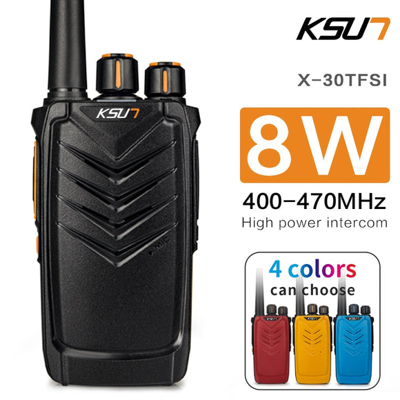KSUN X30TFSI Ham Radio Communicator High Frequency Transceiver Radio Scanner and Two Way Radio Walkie Talkie