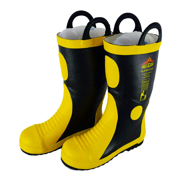 Firefighter's Rubber Fire Fighting Safety Boots