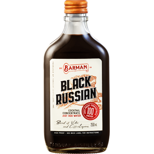 Barman Black Russian Cocktail Concentrate 250 ml