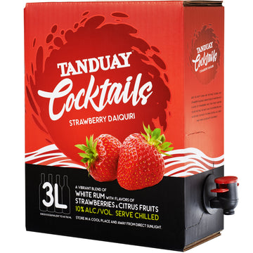 Tanduay Cocktails Strawberry Daiquiri 3L
