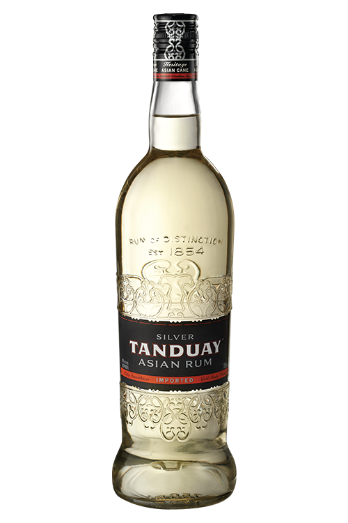 Tanduay Asian Rum Silver 750ML