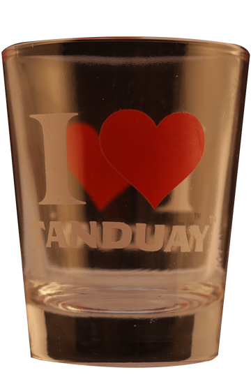 I LOVE TANDUAY - Shot Glass
