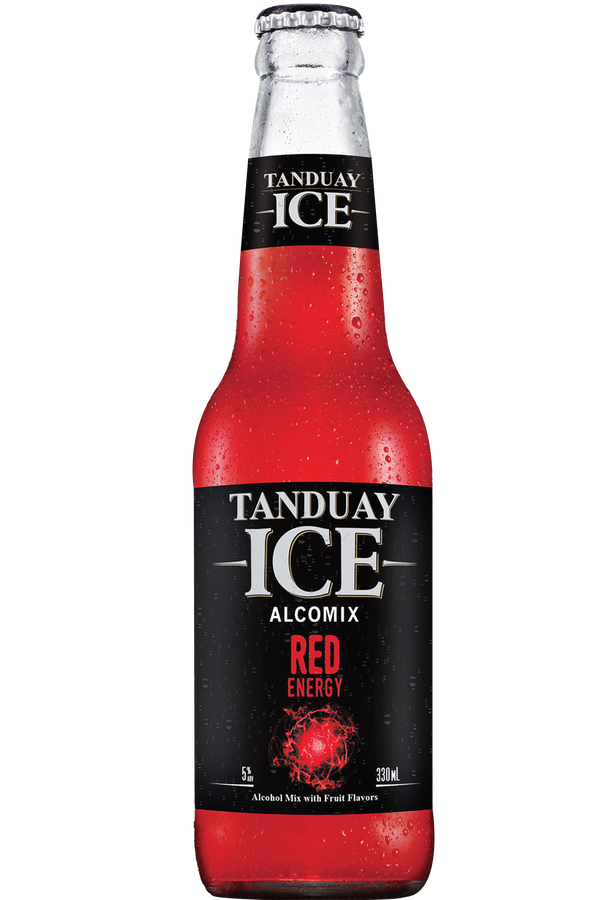 Tanduay Ice 330 ml - Red Energy