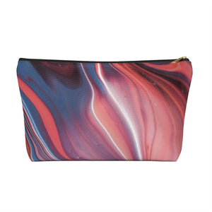 Makeup Bag Fluid Painting Large Front