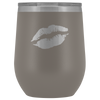 Wine Tumbler Lips in Pewter