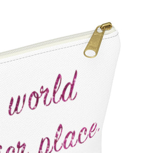 Makeup Bag Make the World a Glitterier Place
