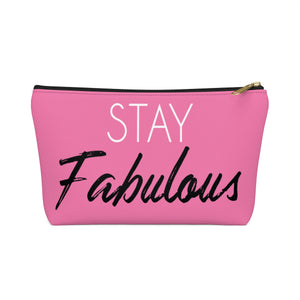 Makeup Bag Stay Fabulous Small Front