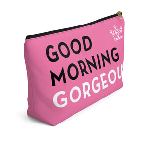 Makeup Bag Good Morning Gorgeous Large Left Side