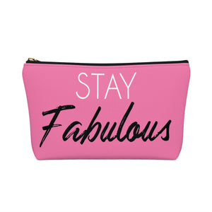 Makeup Bag Stay Fabulous Small Back
