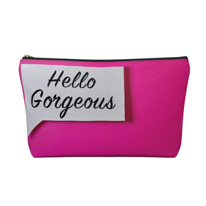 Makeup Bag Hello Gorgeous Large Back