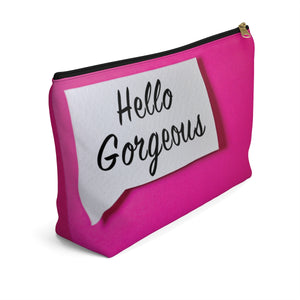 Makeup Bag Hello Gorgeous Large Left Side