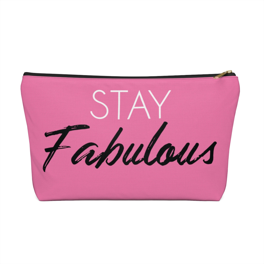 Makeup Bag Stay Fabulous Large Front