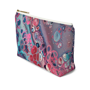 Makeup Bag Modern Art Small Right Side