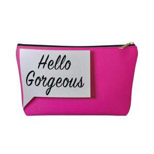 Makeup Bag Hello Gorgeous Small Front