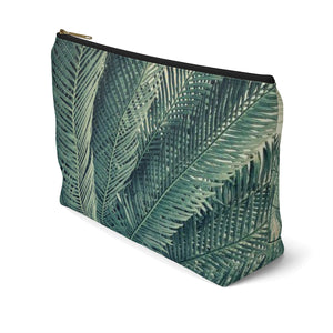 Makeup Bag Palm Tree Large Right Side