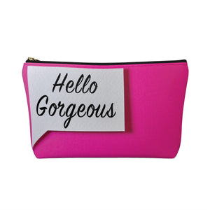 Makeup Bag Hello Gorgeous Small Back