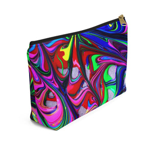 Makeup Bag Color Explosion Small Left Side