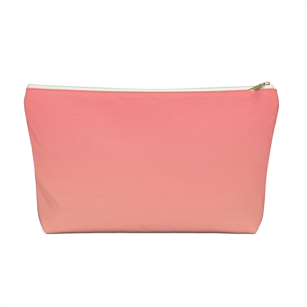 Makeup Bag Orange Gradient Large Front