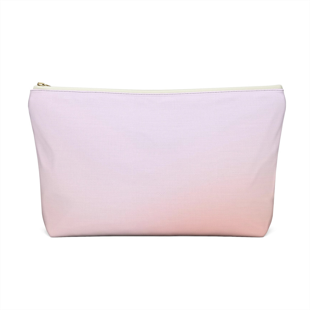 Makeup Bag Orange Gradient Large Back