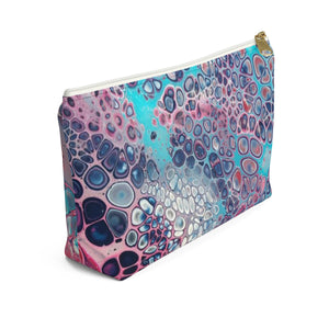 Makeup Bag Modern Art Small Left Side