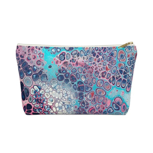 Makeup Bag Modern Art Small Front