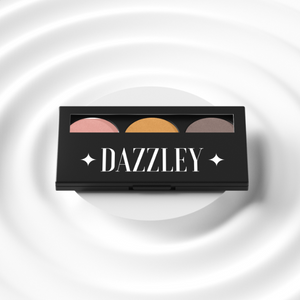 Dazzley Au De Natural Eyeshadow Trio Palette