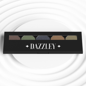 Dazzley Bamboo Eyeshadow Palette with Brush
