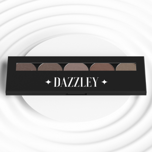Dazzley Brownie Points Eyeshadow Palette with Brush