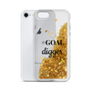 Gold Liquid Glitter Phone Case #GOAL digger