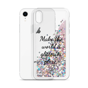 Glitter Pink Phone Case Make the World a Glitterier Place