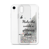Glitter Silver Phone Case Make the World a Glitterier Place
