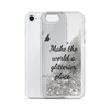 Silver Liquid Glitter Phone Case Make the World a Glitterier Place