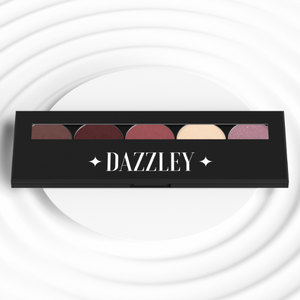 Dazzley Pink Espresso Eyeshadow Palette with Brush