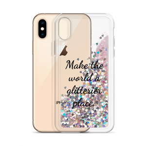 Pink Glitter Phone Case Make the World a Glitterier Place